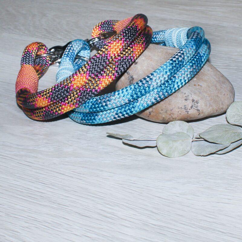 Halsbänder aus Kletterseil/Seil